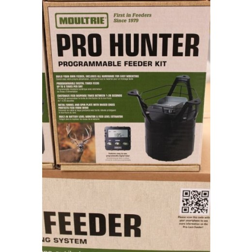Moultrie pro hunter feeder kit-31