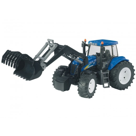 New Holland T8040 med frontlæsser-31