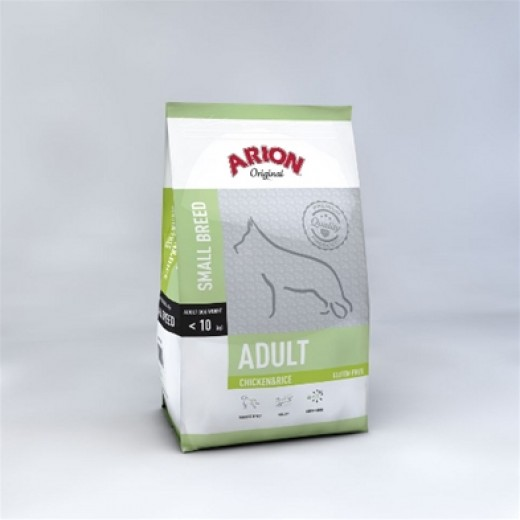 Arion original Adult small breed med kylling 3kg.-31