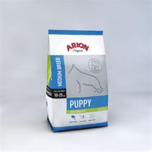 Arion original puppy medium breed med kylling 3 kg-31